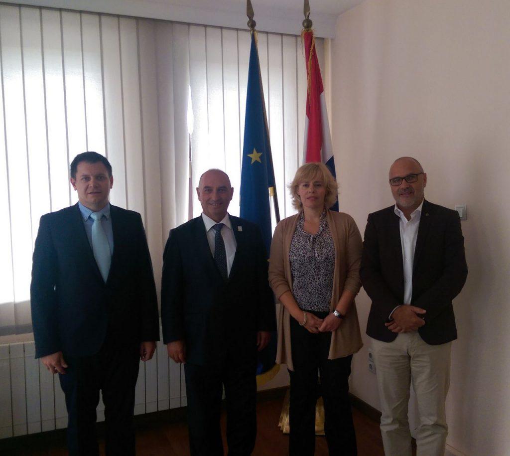 Meeting at Croatian Embassy